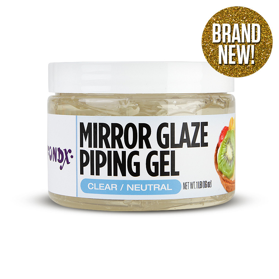 Cake Decorating With Piping Gel : Fondx Mirror Glaze Piping Gel - 1 lb