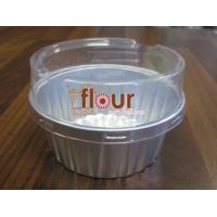 Silver 125ml Round Aluminum Container with Lid - Pack of 100