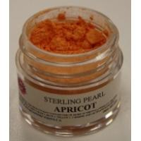 Apricot Luster Dust - Sterling Pearl Shimmer Dust. 2 Grams.