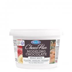Choco-Pan Bright White Modeling Chocolate - 454g (1 lb)