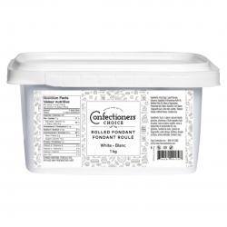 Confectioners Choice White Rolled Fondant. 1Kg