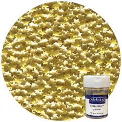 Gold Star Edible Glitter 4.5 Grams