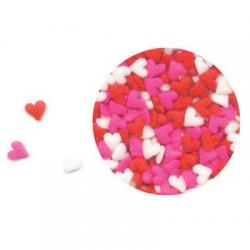 SHORT DATE Mini Hearts Confetti - 2.6 oz