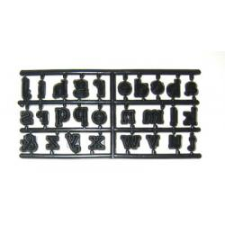 WS Alphabet Et Lower Case Patchwork Cutters