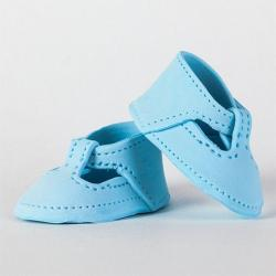 Baby Mary Jane Shoes - Baby Blue