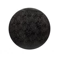 "Black 1/2"" Drum Board Round 10"""