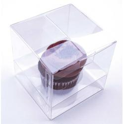 Clear Cupcake Box - Includes Cupcake Insert