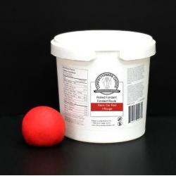 Confectioners Choice Race Car Red Rolled Fondant - 1Kg