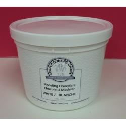 Confectioners Choice White Modeling Chocolate 4 lbs