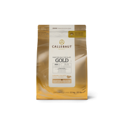 SHORT DATE Callebaut Gold Caramel Chocolate - 2.5Kg