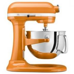 Tangerine Professional 600 KitchenAid Lift Bowl Mixer