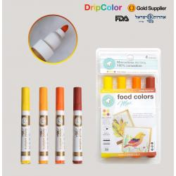 DripColor Max Food Marker Set - Sunrise
