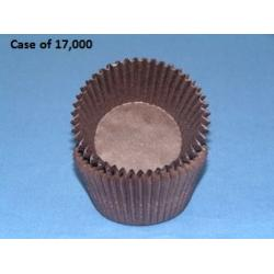 Brown Standard Cupcake Liners - Case Lot 17,000