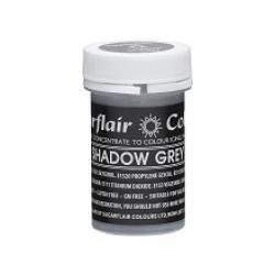 Shadow Grey Sugarflair Spectral Concentrated Pastel Paste Colour