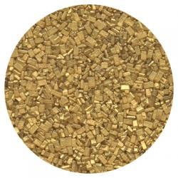SHORT DATE Sugar Crystal - Pearlized Gold 8 lbs