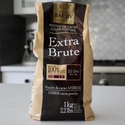 Cacao Barry Extra Brute Cocoa Powder 22/24% - 1 kg