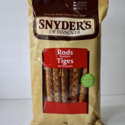 SHORT DATE Snyder's of Hanover Pretzel Rods - 240g
