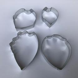 Peony Cutter Set of 4 Designed by Lisa Bugeja